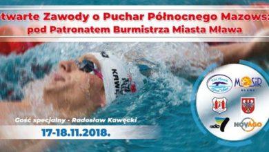 Photo of Do Mławy przyjedzie pół tysiąca pływaków