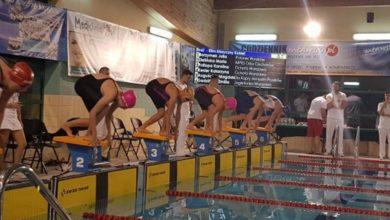 Photo of Dwadzieścia sześć medali dla zespołu Płetwala na mławskim basenie