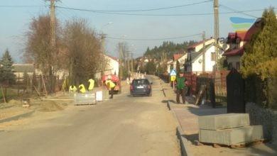 Photo of Budowa powiatowej drogi w Nowej Wsi zakończona