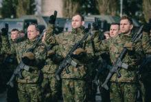 Photo of Pierwsza w tym roku przysięga ciechanowskich terytorialsów