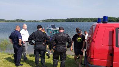 Photo of Znaleziono ciało mężczyzny, który zaginął na jeziorze w Szkotowie