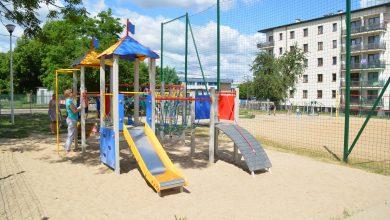Photo of Ciechanów: Nowe zabawki dla dzieci w parku rekreacji