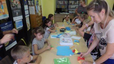 Photo of Dzieci z Bieżunia uczą się nowych umiejętności. Warsztaty teatralne, kulinarne i plastyczne