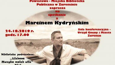 Photo of Do Żuromina przyjeżdża dziennikarz, podróżnik i kompozytor Marcin Kydryński