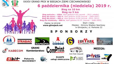 Photo of W niedzielę bieg o Puchar Burmistrza Miasta i Gminy Glinojeck