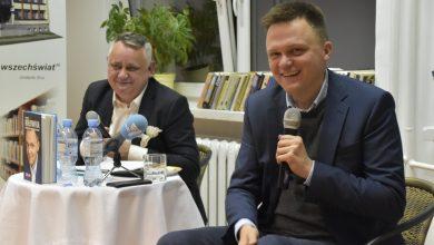Photo of W Żurominie Szymon Hołownia mówił o kandydowaniu na prezydenta