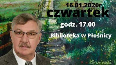Photo of W Płośnicy odbędzie się spotkanie  z pisarzem i malarzem Leszkiem Mierzejewskim