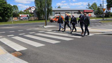 Photo of Ulica Grunwaldzka w Działdowie uroczyście oddana do użytku