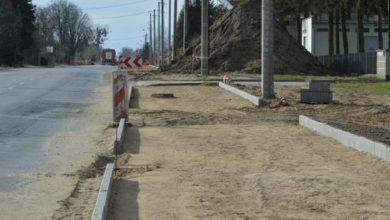 Photo of I etap modernizacji ulicy Mławskiej w Rypinie zbliża się do końca