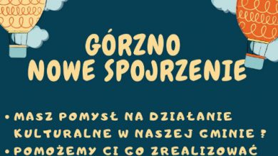 Photo of Mieszkańcy Górzna inicjatorami kulturalnych wydarzeń