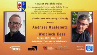 Photo of Andrzej Mastalerz będzie czytał w Działdowie poezję