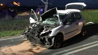 Photo of Wypadek na trasie Działdowo-Lidzbark. Dwie osoby w ciężkim stanie