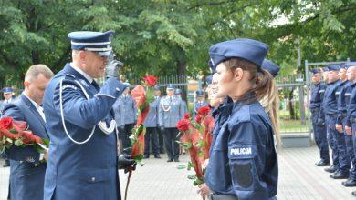 Photo of Nowi policjanci w naszych komendach