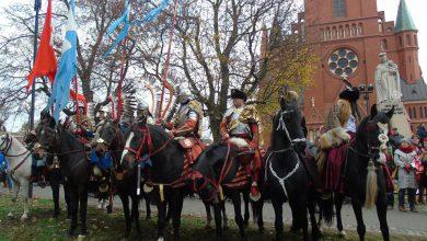 Photo of Rycerze z Rypina jadą na turniej rycerski do Golubia