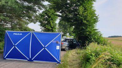 Photo of Śmiertelny wypadek w gminie Kozłowo. Kierowca był pijany