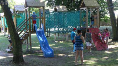 Photo of W działdowskim parku pojawiło się wiele atrakcji dla dzieci