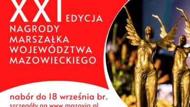 Photo of Nagroda marszałka Mazowsza. Można zgłaszać kandydatów