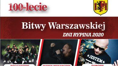 Photo of Dni miasta i obchody rocznicy Bitwy Warszawskiej w Rypinie