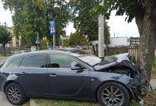 """Photo of Mława: Wypadek na ul. Roweckiego """"Grota"""". Wideo ku przestrodze"""