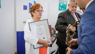 Photo of Łucja Rucińska z Dąbrówna Sołtysem Roku 2019