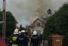 Photo of W Żurominie palił się dom na obrzeżach miasta