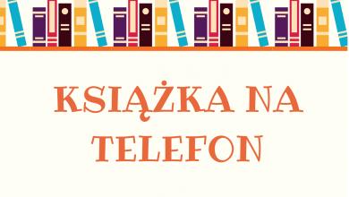 Photo of Książka na telefon w Lidzbarku