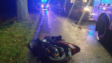 Photo of Wypadek 90-letniego motorowerzysty w Grzegórzkach