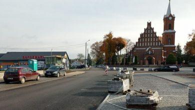 Photo of Główna ulica w Dzierzgowie wyremontowana