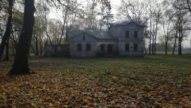 Photo of Nowy wygląd parku w Kliczewie Małym. Teren wokół dworku uprzątnięty
