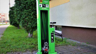 Photo of Inwestycja dla rowerzystów z Rypina. Powstały stacje naprawy jednośladów