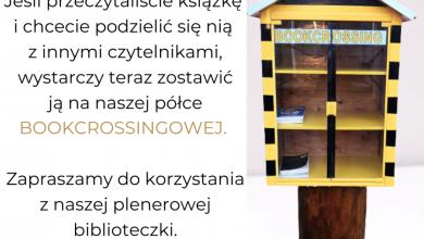Photo of Działdowska biblioteka zachęca do dzielenia się książkami