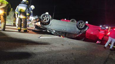Photo of Dwóch 19-latków zginęło w wypadku pod Lidzbarkiem. 17-latek walczy o życie