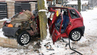 Photo of W Mławie pijana kobieta spowodowała wypadek
