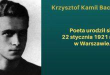 Photo of Prezentacja sierpeckiej biblioteki dotycząca Krzysztofa Kamila Baczyńskiego