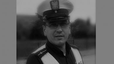 Photo of Asp. Paweł Nowakowski z mławskiej komendy odszedł na wieczną służbę