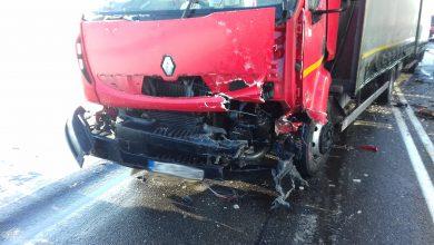 Photo of Dwa wypadki na drodze nr 7. Droga zablokowana od Glinojecka do Mławy