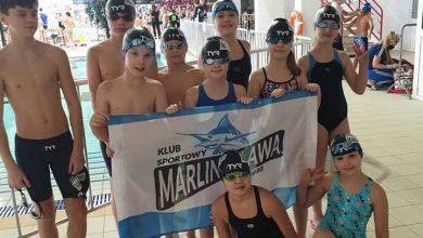 Photo of 12 medali mławskich pływaków