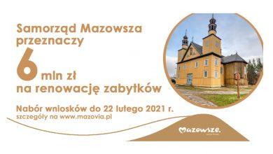 Photo of Mazowsze dofinansuje renowację zabytków