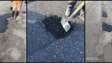Photo of Drogowcy łatają dziury w mławskich ulicach