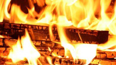 Photo of Pożar domu w miejscowości Huta. Jego właściciel został bez dachu na głową
