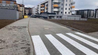 Photo of Nowa droga w Mławie ułatwieniem dla mieszkańców ul. Smolarnia