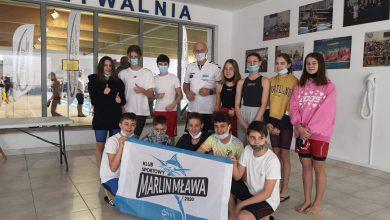 Photo of Cztery medale pływaków Marlina Mława na Międzywojewódzkich Drużynowych Mistrzostwach Młodzików