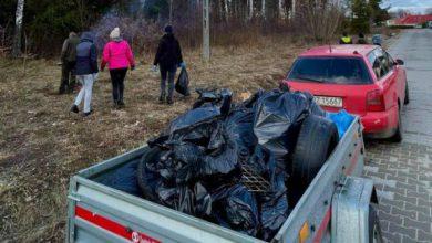 Photo of Lidzbark: 50 worków śmieci na Działkach
