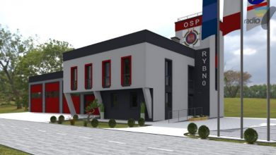 Photo of Strażacy z Rybna będą mieć nową remizę. Wiele ekologicznych rozwiązań