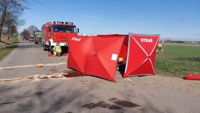 Photo of Tragiczne zdarzenie w Żabowie. Nie żyje 28-letni mężczyzna