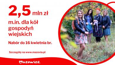 Photo of Mazowsze ma pieniądze dla gospodyń