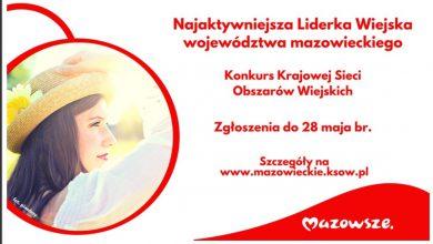 Photo of Można zgłaszać najaktywniejsze liderki na Mazowszu